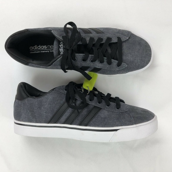 sports shoes 7a491 d911a Adidas NEO Cloudfoam Super Daily Gray Shoes AW4314